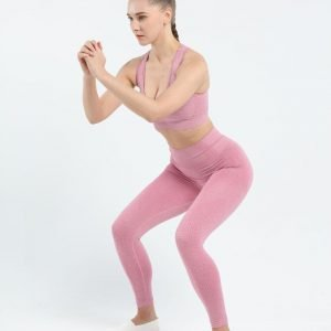Seamless leggings pink Effect