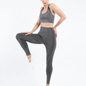 Seamless leggings grey Effect