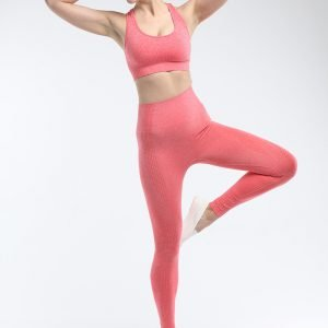 Seamless leggings orange red Effect