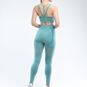Legging and sports bra set light green Win
