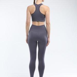 Seamless bra legging set grey Super