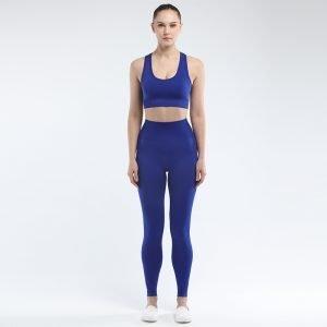 Seamless bra legging set navy Super