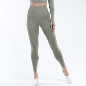 Seamless leggings army green Effect