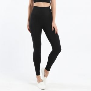 Seamless leggings black Effect