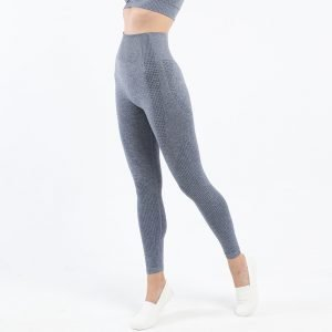 Seamless leggings blue grey Effect