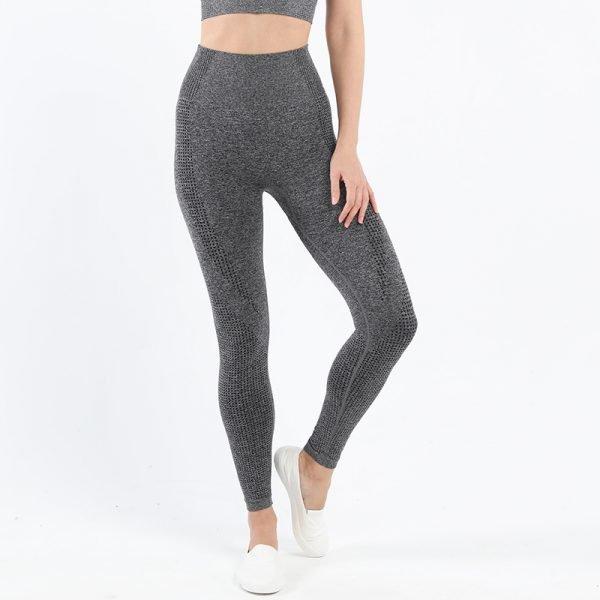 seamless leggings grey