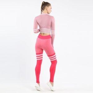 Seamless underwear bra set red Triunity