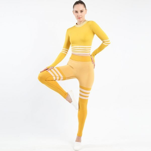 seamless wear multifunctional Triunity Yellow