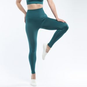 Seamless yoga legging dark green Super