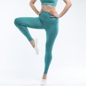 Seamless yoga legging light green Super