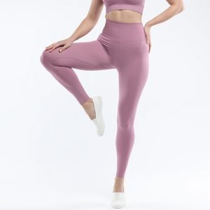 Seamless yoga legging light purple Super