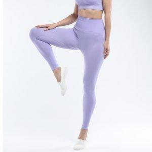 Seamless yoga legging taro Super