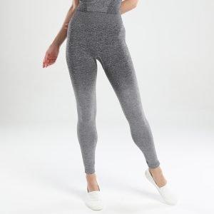 Seamless yoga leggings dark grey Change